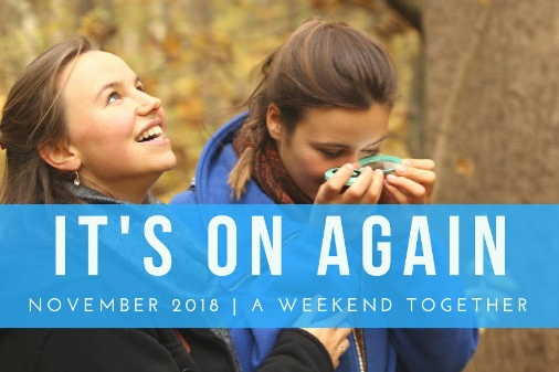 featured - its on again weekend together